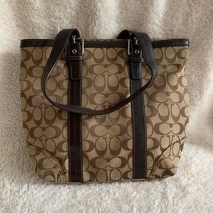Coach • Signature Medium Tote Bag F12645